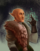 that cute bald elf by xLacie
