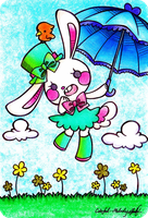 Bunny-chan by Colorful--Melody