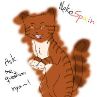 Ask NekoSpain by XxHoneywingxX
