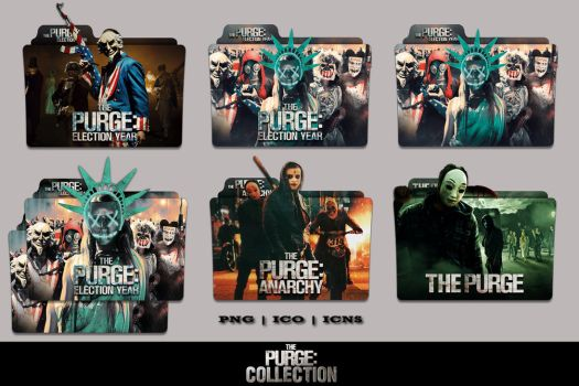 The Purge Election Year (2016) Folder Icon Pack by Bl4CKSL4YER