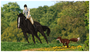 Company during Training by Jullelin