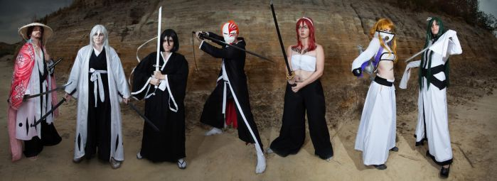 Bleach Group by CatsTailCosplay