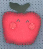 Little Apple Pincushion by RyuuseiHime