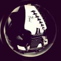 Mayones Flame EXG 7 in fisheye by TheDeadStare