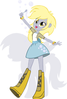 Equestria Girls - Derpy by Rariedash