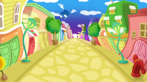 TTR City Background by Piranhartist