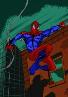 spiderman by LloydBridgemanInk