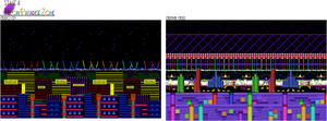 Neon Paradise Zone ver 2 - Background Examples by DanielMania123