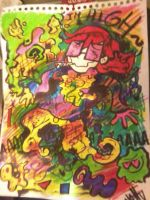 I drew this in school by La-Frugele