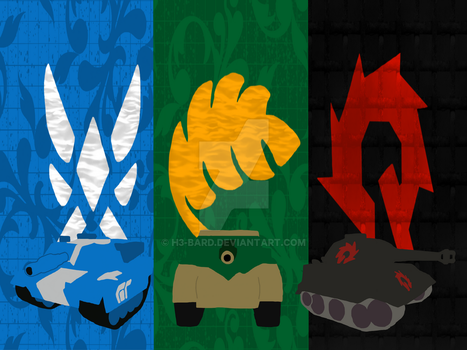 The Nations of Steel by H3-Bard