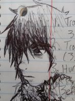 Nico di Angelo Sketch by iRollwithit