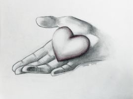 Heart in Hand by CameraShi