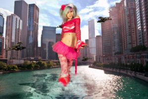 Splashing through chicago by BigA-nt by BigA-nt