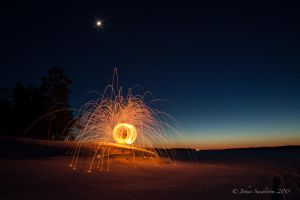 Fire ball by photojrs