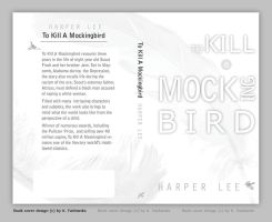 To Kill A Mockingbird book cover design by kfairbanks