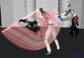 Sith Attack by mtrout65