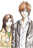 edward and bella manga by lorellashray