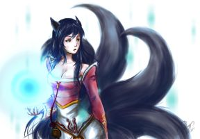 Ahri from League Legend by TseYan