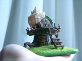 Fairy House by LeMieCianfrusaglie