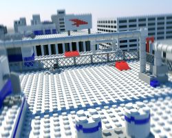 lego mirror's edge by Pantoman