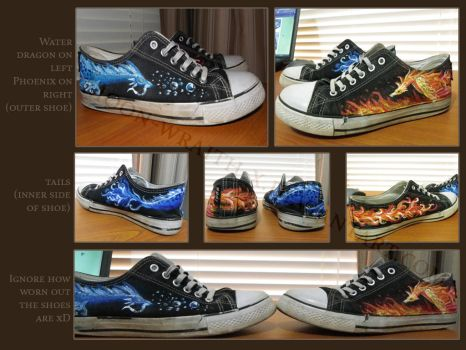 Fantasy shoes by susmishious