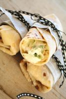 Smoked Chicken Wraps by NaamahsServant