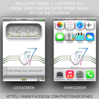 wallpaper iphone 4 ios7 by Meophotographie