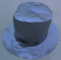 Duct Tape Top Hat by Knifejosh