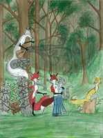 The Antique Symphony by FoxInShadow