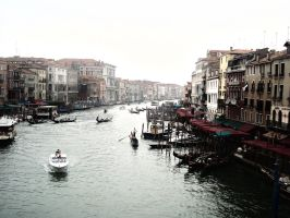 The Cannals of Venice. HDR by Echoes93