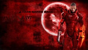 Renegade Shepard wallpaper by shatinn