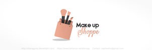 Makeup Shop Logo (For Sale) by DianaGyms