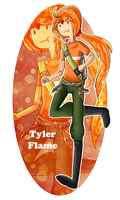 Tyler Flame by Rumay-Chian