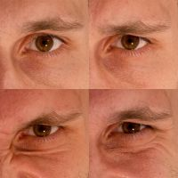 Eye expression by haakenson-stock