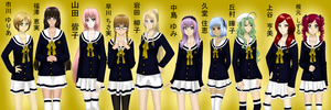 Golden Roses - All Girls by Hime-Takamura