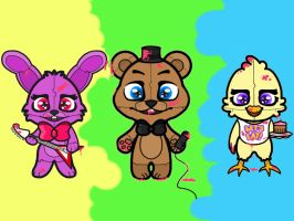 Five Nights at Freddy's by catspresso