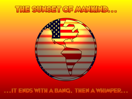 The Sunset of Mankind by Enigmatic-Andy