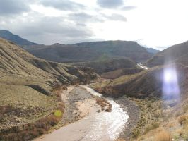 Virgin River Gorge, AZ 2126 by archambers