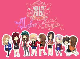 I Got A Boy by taeoff