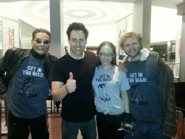 3rd pic with Orny Adams by LightninBluEyes