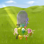 The Grave by AllEagerThumbs