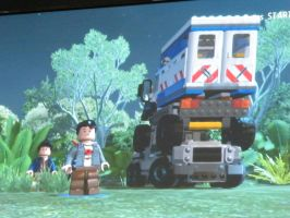 Tadashis Great Parking Job In LEGO Jurassic World! by Aarion23