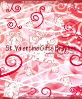 St.Valentine Gifts Brushes by Coby17