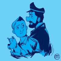 The Adventures of Tintin by IncenteFalconer