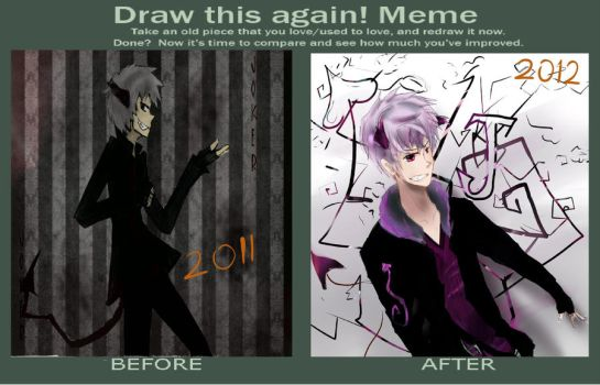Before and After Meme by luiganddaisy
