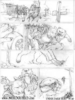 Under Dark Skies, Sketched PG 20 by screwbald