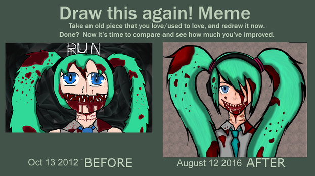 Draw it again meme by Davubnub