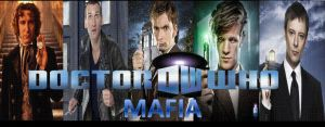Doctor Who Mafia Banner by alphacadet0820
