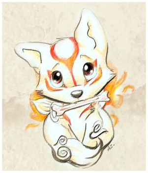 Ammy by PixelRaccoon