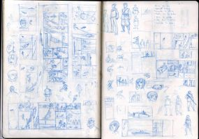 Test pages sketches by zazB